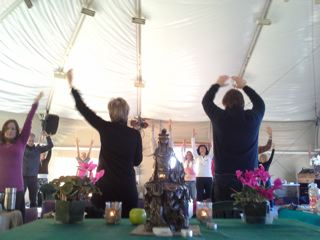 Marc Gafni & Sally Kempton Teaching Together in Esalen